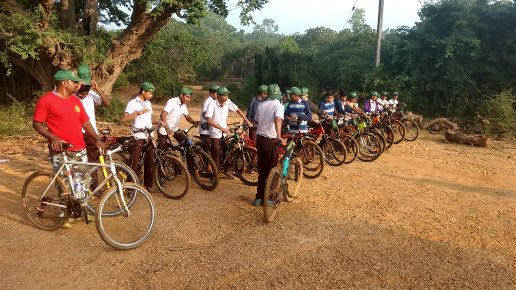 Cycle trip to Perumukkal 12.1.19