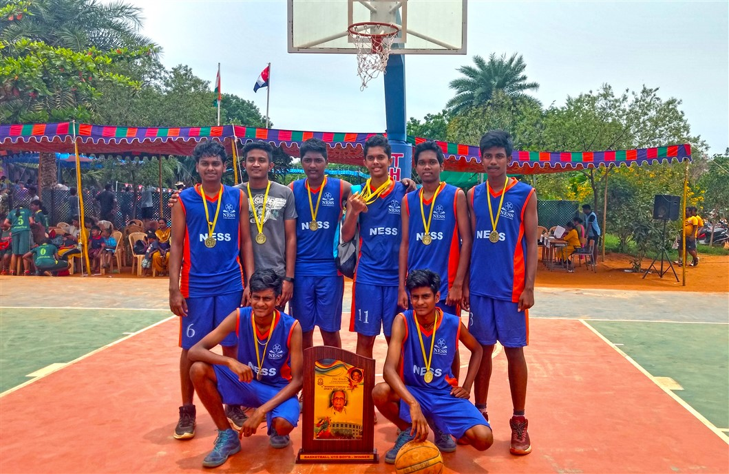 Boys-Basketball Tournament at Study School by 11th &12th Graders