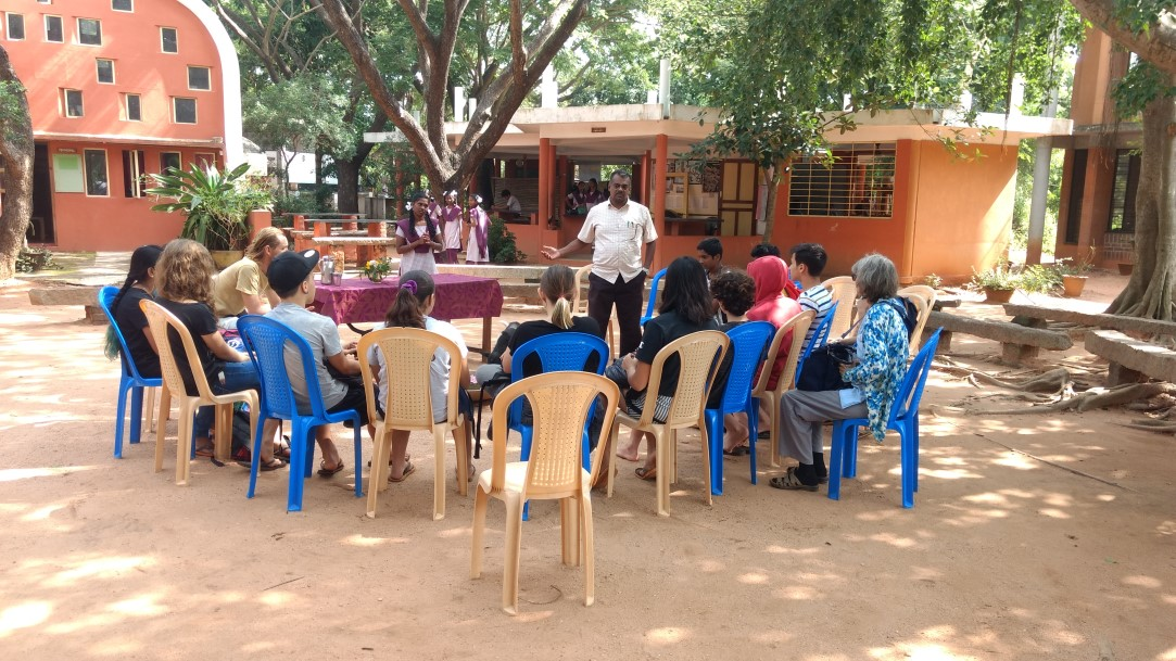 Introduction about NESS School to Transition School students