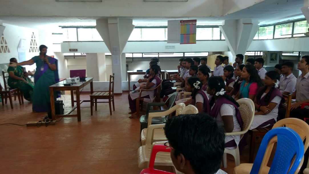 Carrier guidance for 10th & 12th graders by Christ college faculties