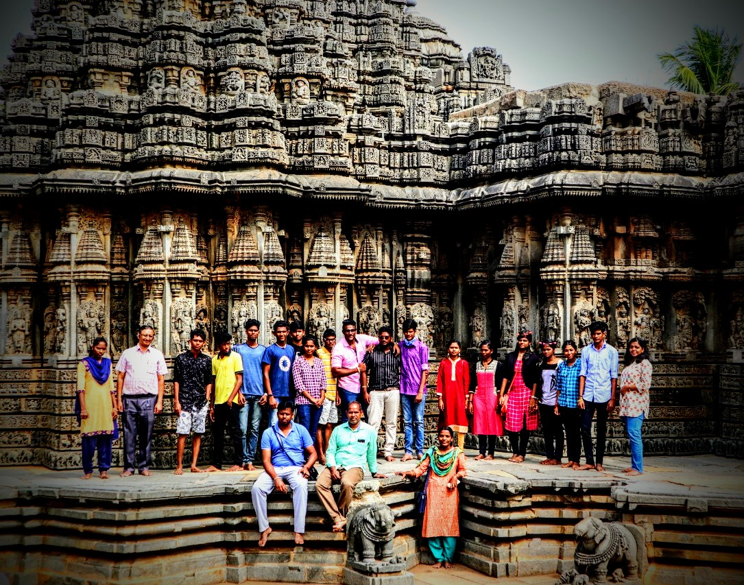 Heritage Trip to Mysore by 12th graders – DEC 2019