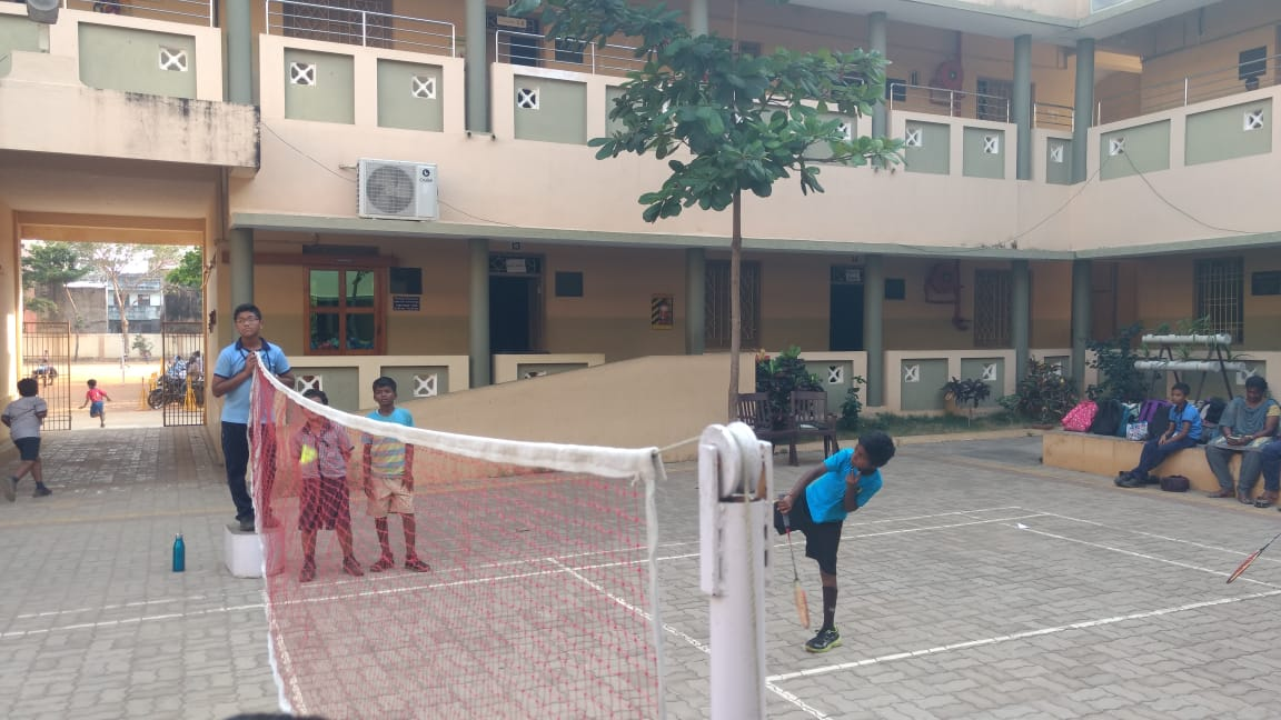 Inter school Badminton matches b/w NESS & VASAVI School on 7th March 20