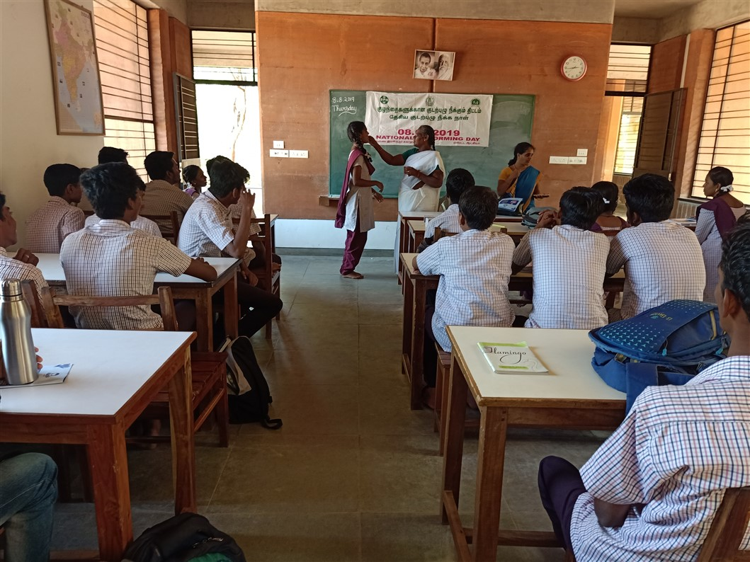 Deworming day 8th Aug-19