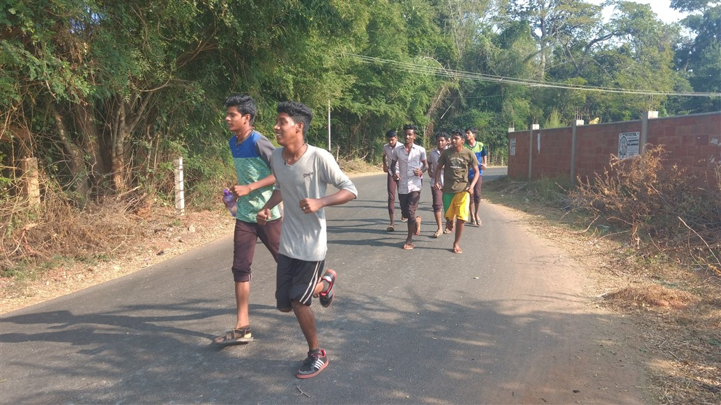 11th Science Jogging & Frisbee on 29th Jan 2019