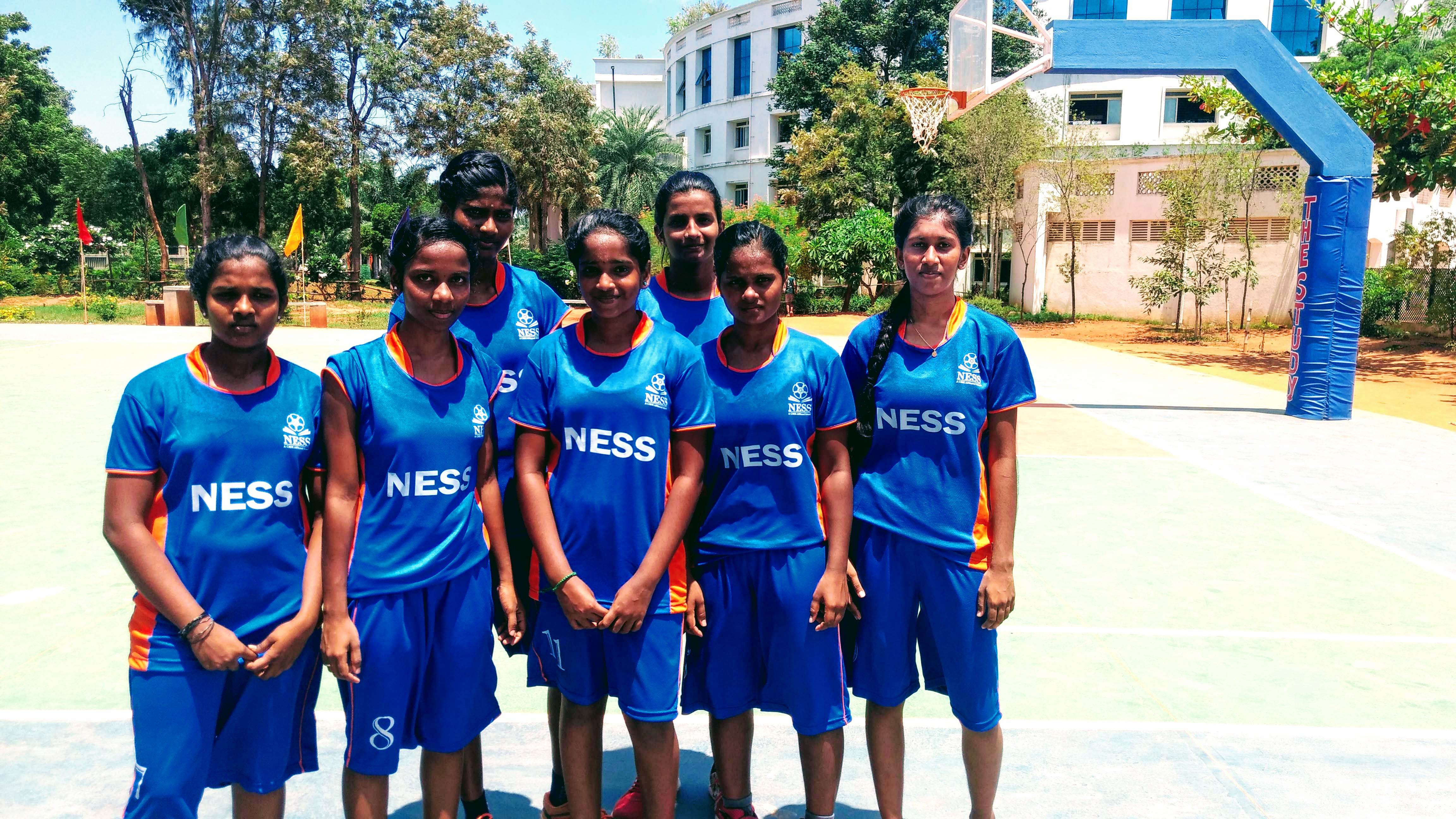 Girls-Basketball Tournament at Study School by 11th &12th Graders
